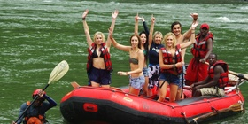 'Test the Best' White Water Rafting