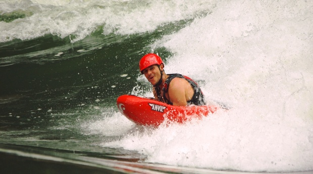 Surfing the Zambezi