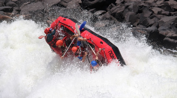 Test the Best Zambezi Rafting