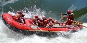 Christmas and New Year Multiday Rafting Trip