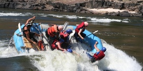 Afternoon Half Day White Water Rafting