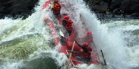 Test the Best Rafting and Flying Fox / Abseiling /Gorge Swing