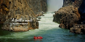 Rafting & Swimming under the Falls & Sunset Cruise