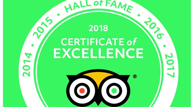Bundu Adventures Certificate of Excellence