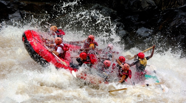 Zambezi Rafting best rapids