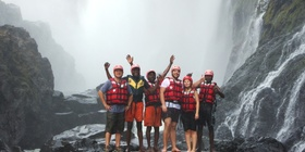 Swimming Under the Victoria Falls