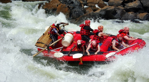Zambezi Overnight Rafting Bundu Adventures Zambia