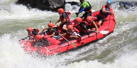 Rafting and Swimming under the Falls for as little as U$ 95 pp