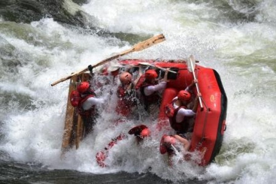 Zambezi White Water Rafting Bundu